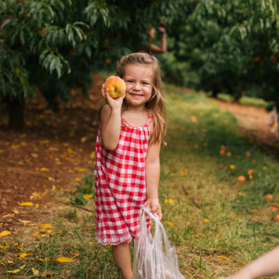 Richmond Adventures: Peach Picking at Carver Mountain